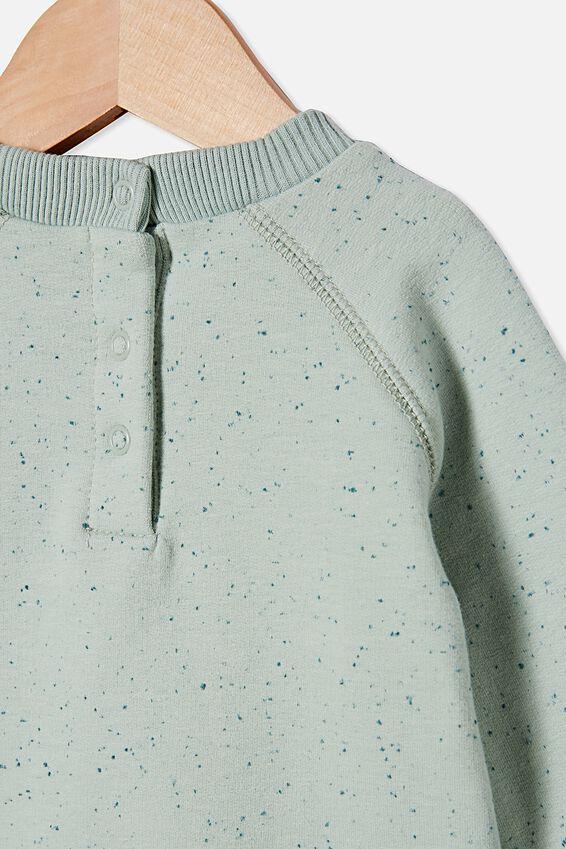 Harley Sweater, STONE GREEN NEP