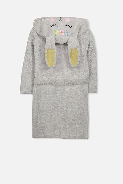 Girls Hooded Gown With Sound, BLOSSOM THE BUNNY