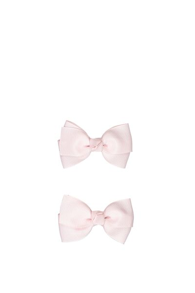Mini Bow Clips, PINK