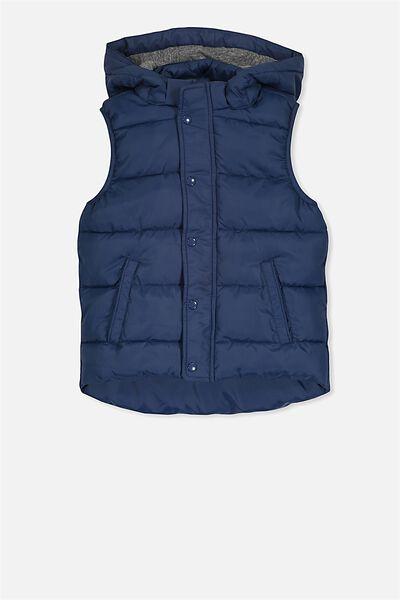 Palmer Puffer Vest, CAPTAIN BLUE