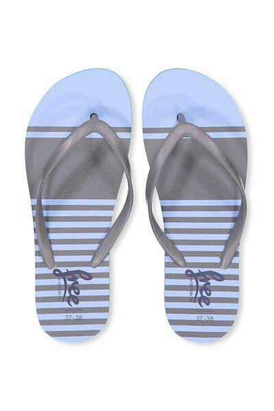 Free Flip Flops, B SUMMER STRIPE
