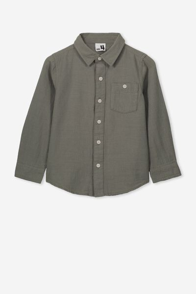 Fairfax Long Sleeve Shirt, KHAKI/UTILITY