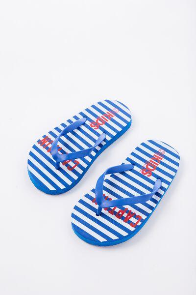Printed Flip Flop, B CAPTAIN