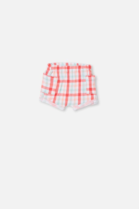 Jordan Shorts, CORAL CRUSH/KEANAN CHECK