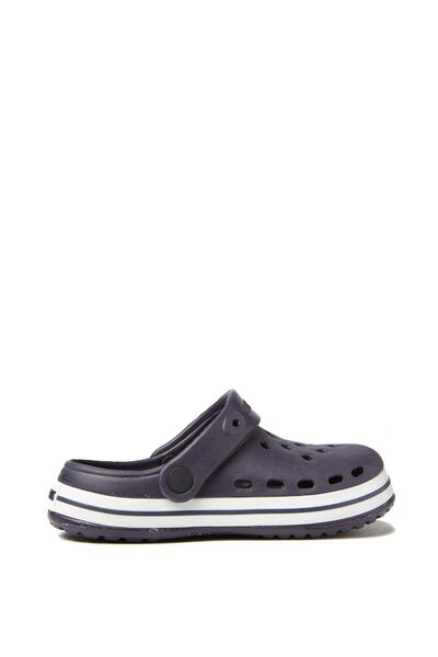 Hippo Clog W/Holes, NEW NAVY