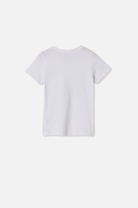 Max Short Sleeve Tee, WHITE/SURFS UP