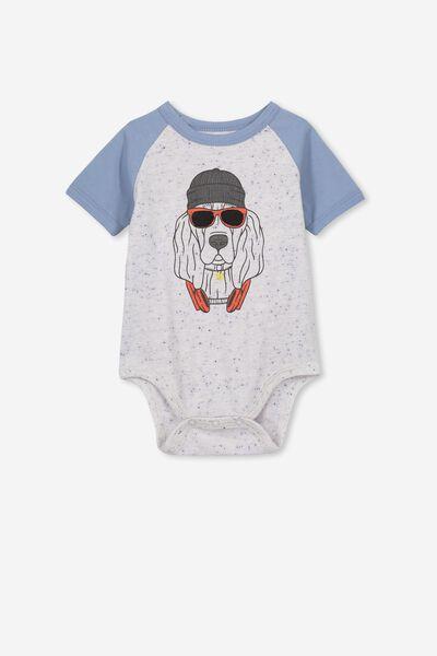 Ben Ss Bubbysuit, SUMMER MARLE/HOUND DOG