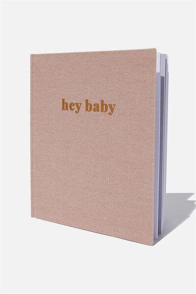 Baby Book, HEY BABY ZEPHYR