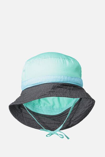 Kids Bucket Hat, MAUI BLUE SPLICE