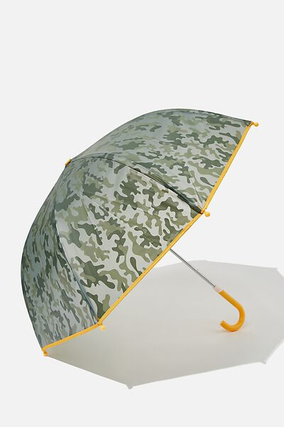 Kids Cloudburst Umbrella, SILVER SAGE CAMO