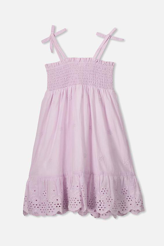 Lily Mae Sleeveless Dress, LAVENDER FOG/FLORAL