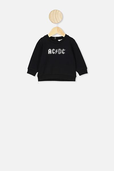 Bobbi Sweater, LCN PER BLACK/SILVER FOIL ACDC