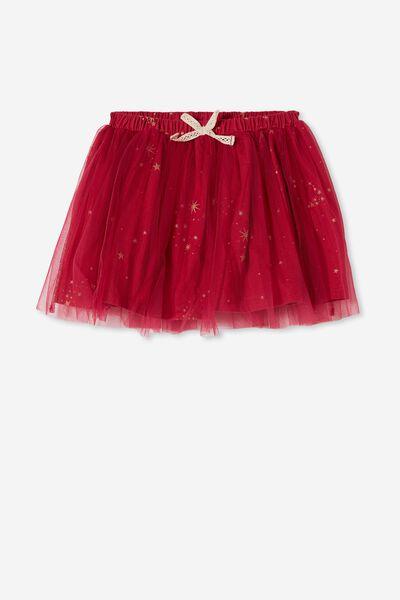 Sadie Dress Up Skirt, BERRY/MAGICAL STARS