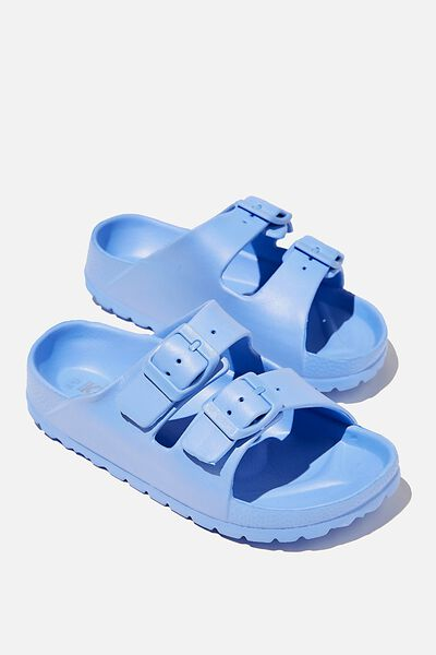 Twin Strap Slide, DUSK BLUE