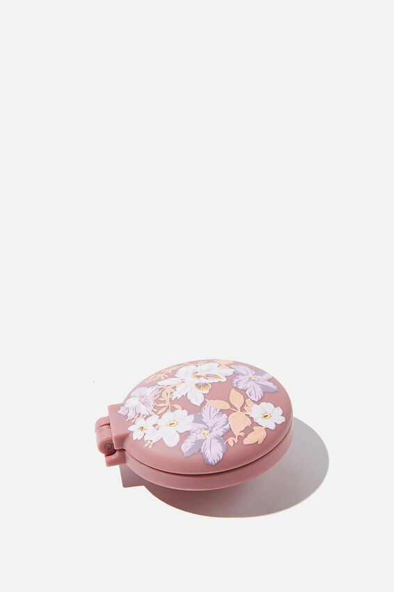 Compact Hair Brush, VERY BERRY FLORAL