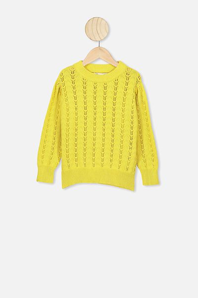 Josie Pointelle Jumper, SUNSHINE