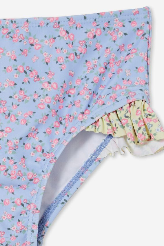 Pippa Ruffle Bikini Bottom, SOMERSET DITSY SPLICE