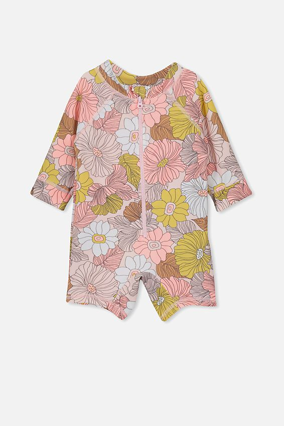 Harris One Piece, PEARL PINK/RETRO FLORAL