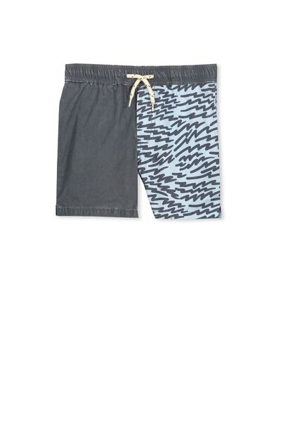 Murphy Swim Short, GRAPHITE/ANIMAL