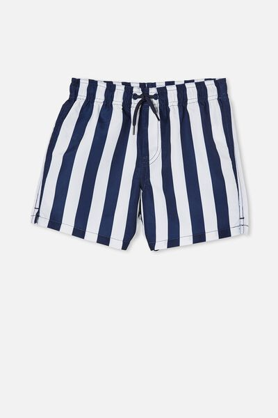 Bailey Board Short, CANDY STRIPE/INDIGO