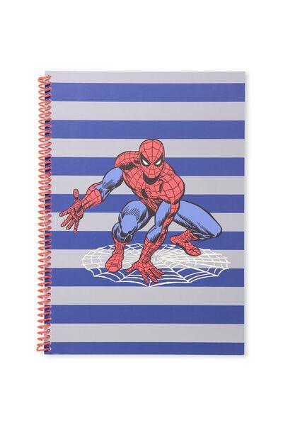 A4 Everyday Sketchbook, GREY SPIDERMAN