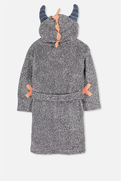 Boys Hooded Gown, CHEEKY MONSTER