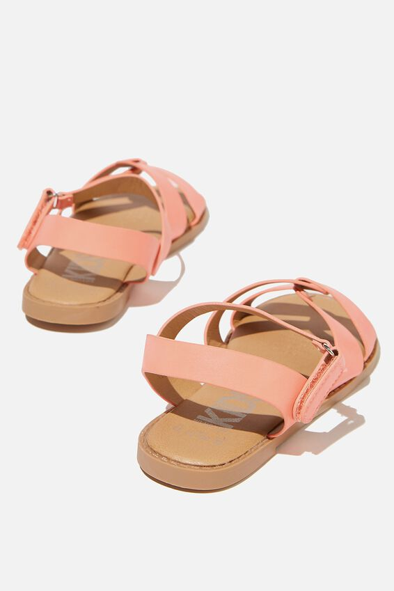 Fisherman Weave Sandal, MUSK MELON