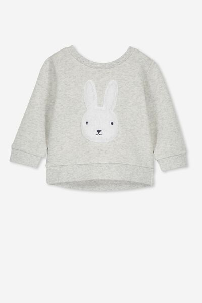 Billie Sweater, CLOUD MARLE/BUNNY