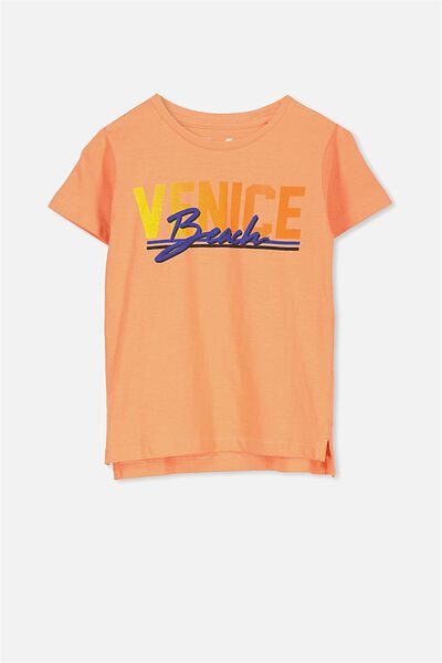 Max Short Sleeve Tee, VENICE BEACH/SIS