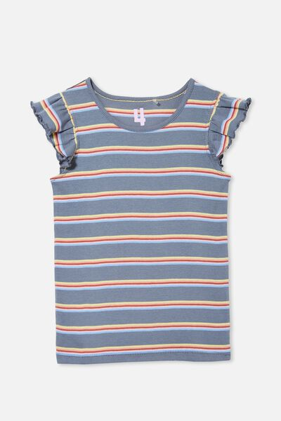 Kaia Tank, STEEL RAINBOW STRIPE