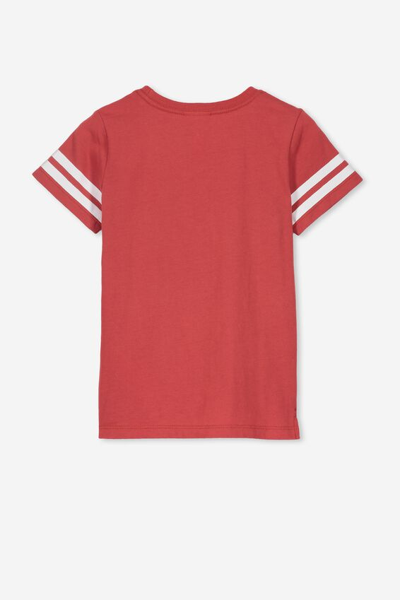 Short Sleeve License1 Tee, LCN MAR/RED KETCHEP/CAPTAIN AMERICA