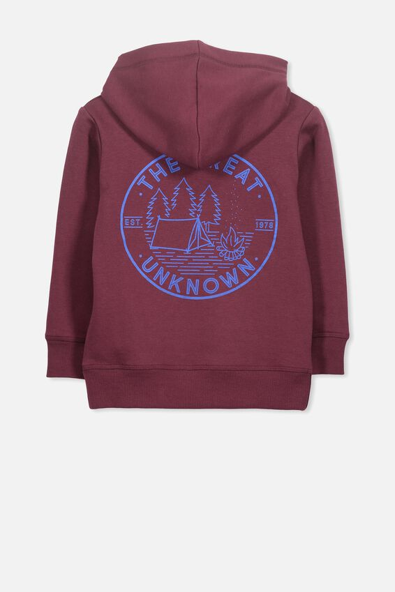 Liam Hoodie, WINTER GRAPE/UNKNOWN