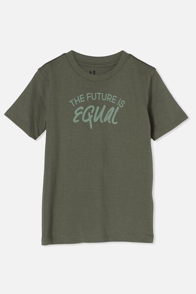 Max Skater Short Sleeve Tee, SWAG GREEN/FUTURE IS EQUAL