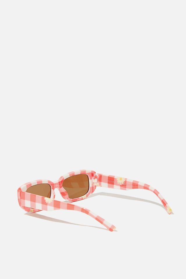 Kids Retro Sunglasses, GINGHAM
