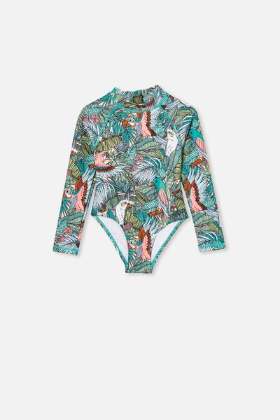 Lydia One Piece, TROPICAL BIRDS