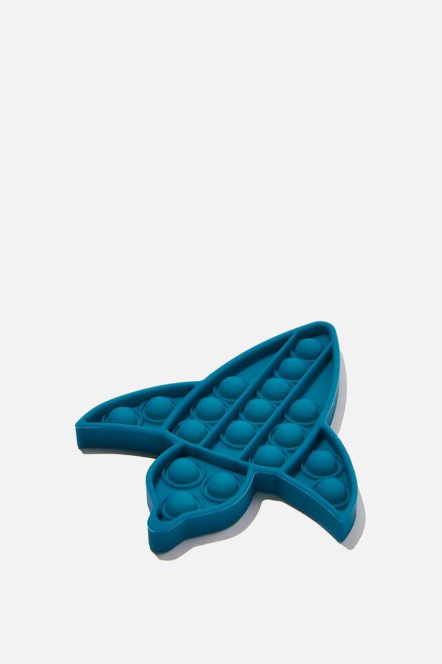 Snap Bubble Pop Fidget Toy, ROCKET SHIP