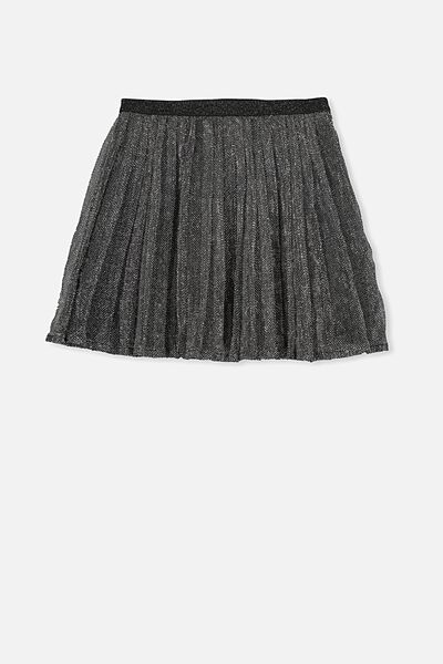 Mabel Skirt, SILVER SPARKLE