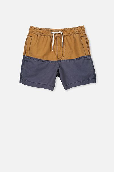 Murphy Swim Short, BROWN EARTH/WASHED NAVY SPLICE