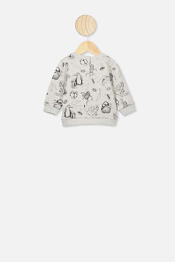 Bobbi Sweater, LCN MAY CLOUD MARLE/BANKSIA