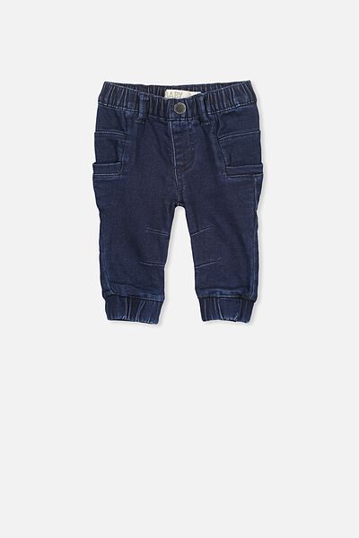 Ronny Jogger Jean, MID BLUE