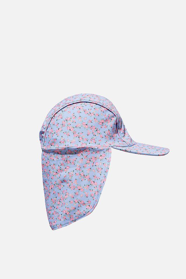 Swim Hat, SOMERSET DITSY FLORAL DUSK BLUE