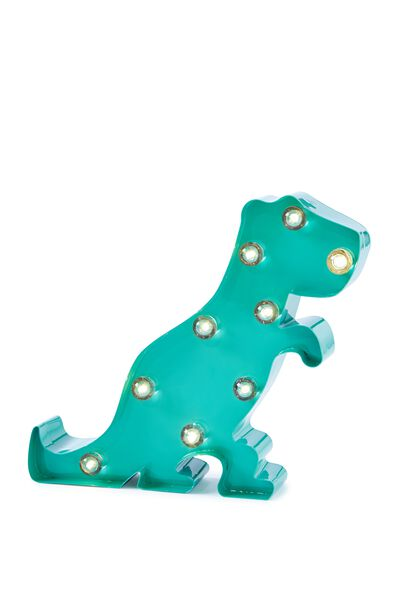 Marquee Light, GREEN DINOSAUR