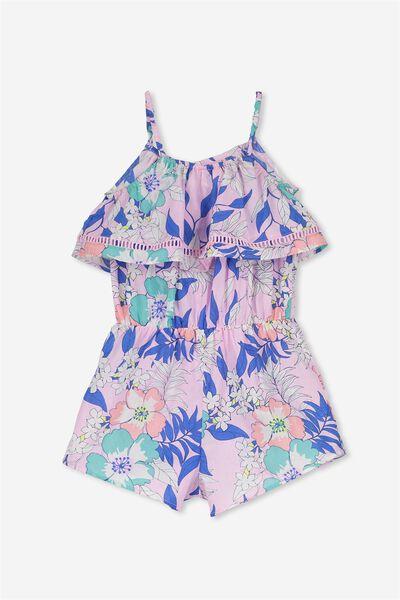 Maya Short Jumpsuit, PINK LADY/TROPICAL