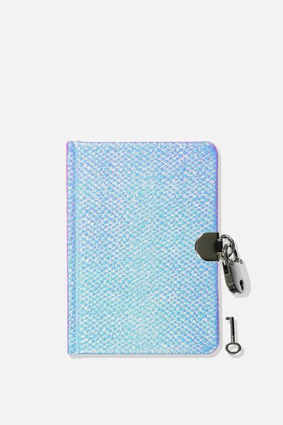 Sunny Buddy A6 Secret Notebook, MERMAID