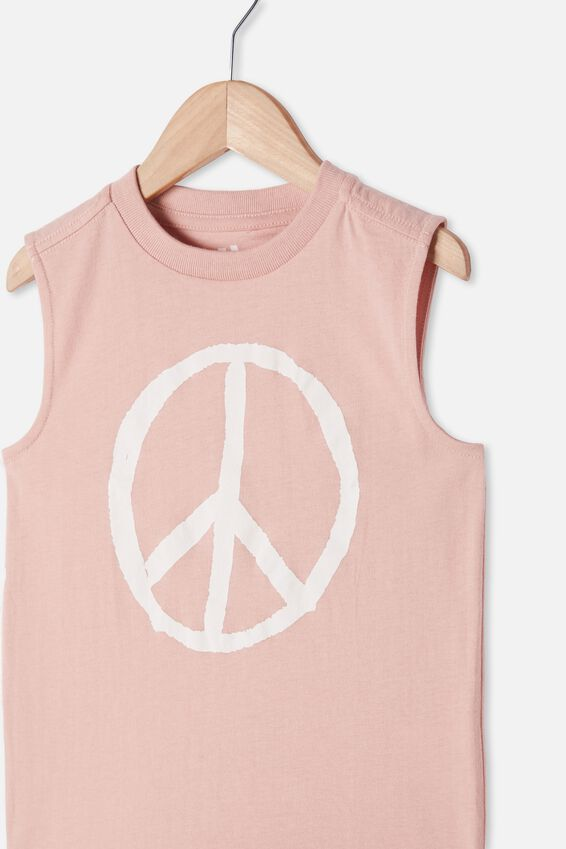 Otis Muscle Tank, ZEPHYR/PEACE SIGN