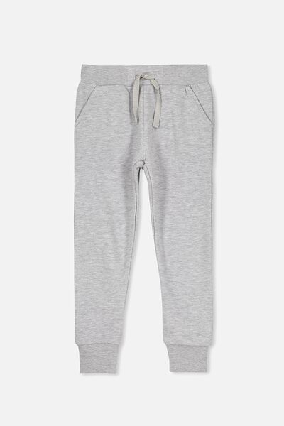 Kara Sweatpant, LIGHT GREY MARLE/SPARKLE