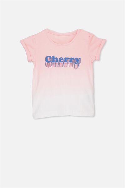Ginger Ss Tee, VANILLA/CHERRY