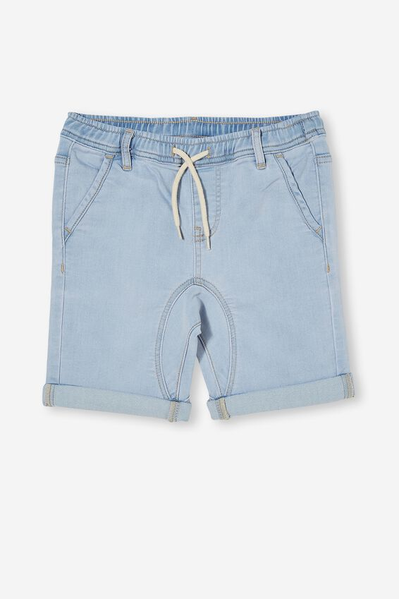 Slouch Fit Short, BELLS LIGHT BLUE