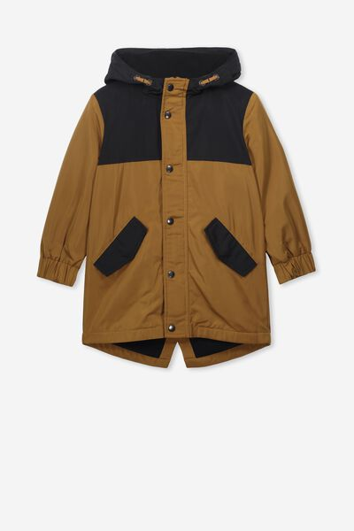 Park Life Parka, PHANTOM/GOLDEN BROWN SPLICE