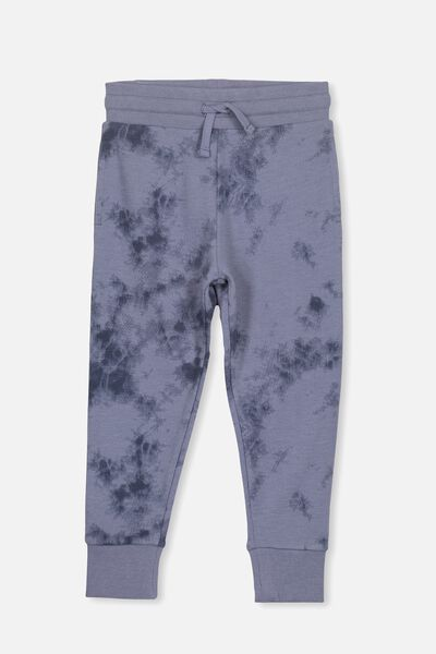 Leo Trackpant, STEEL WASH/TD